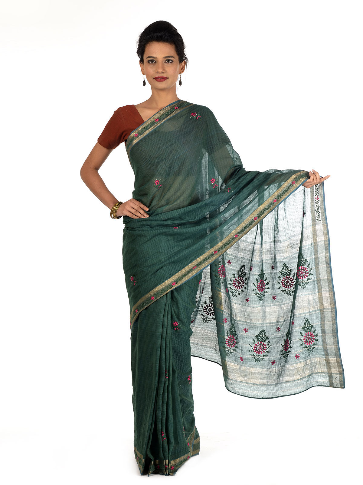 Sevala Maheshwari Cotton Saree