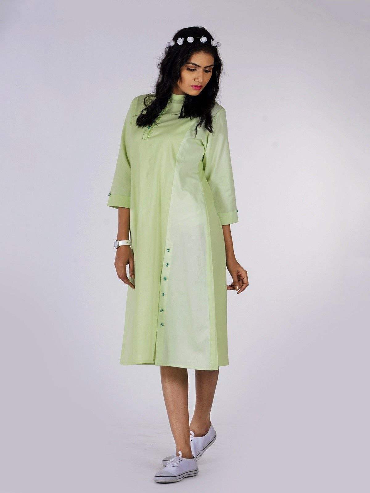 Fairmont Cotton Shirt Dress