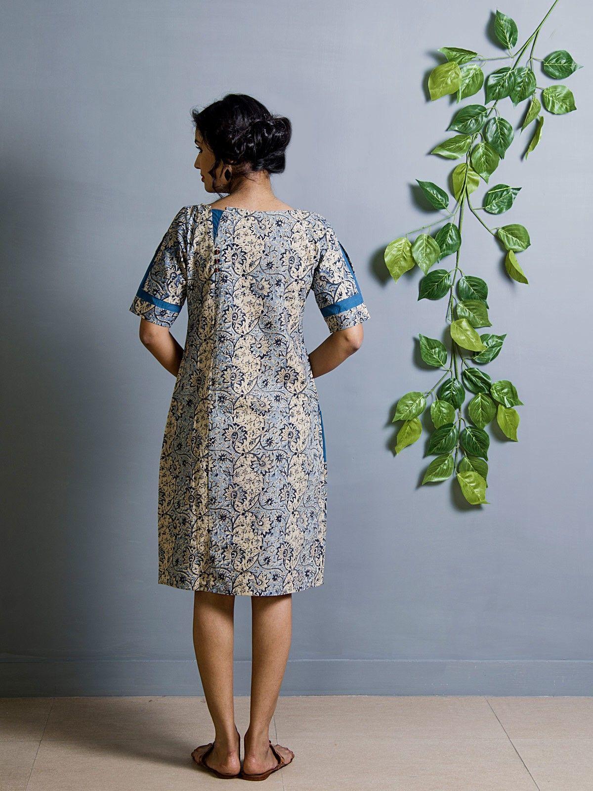 Nila patina tunic