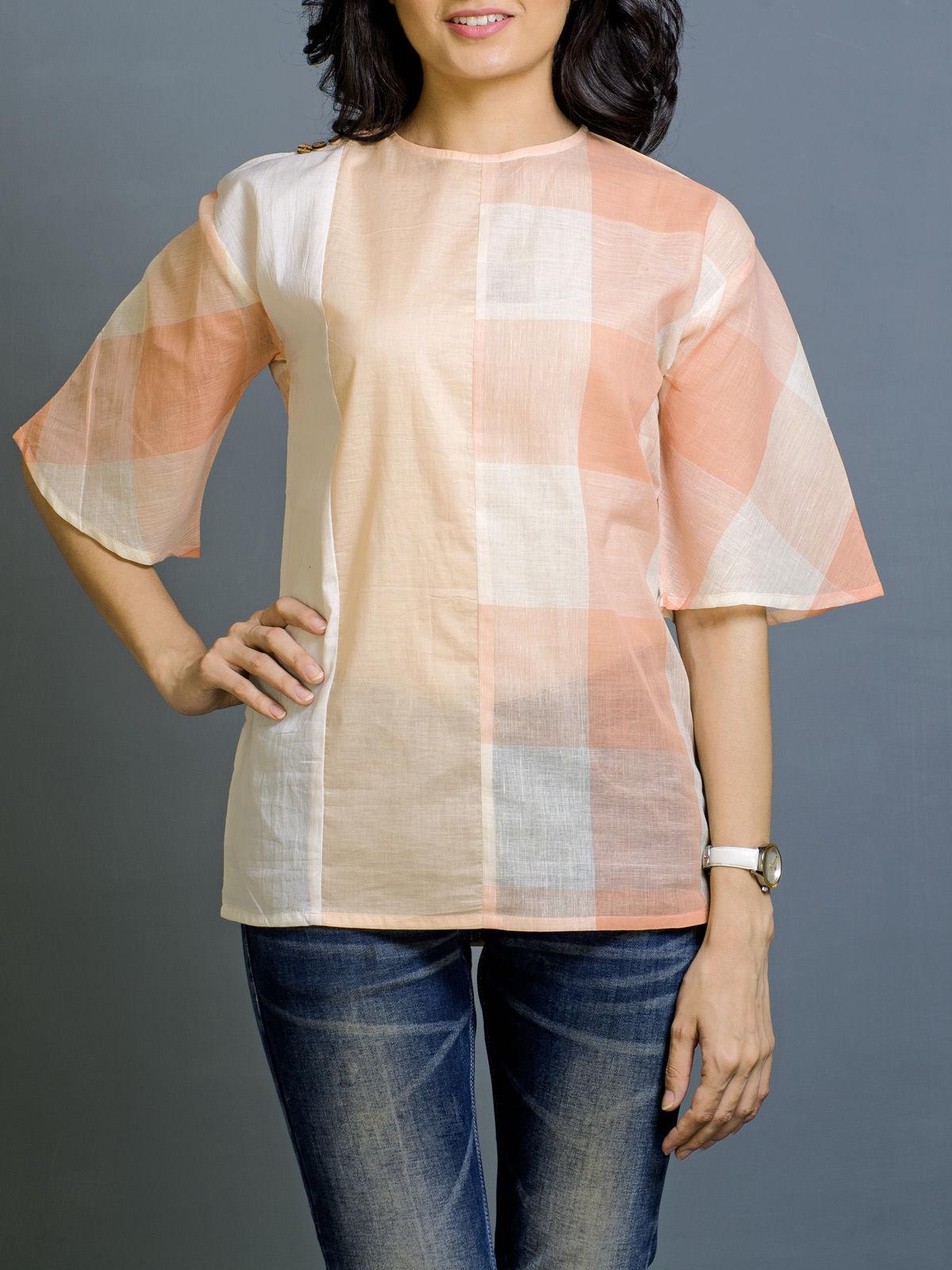 Vanilla Blush Cotton Top