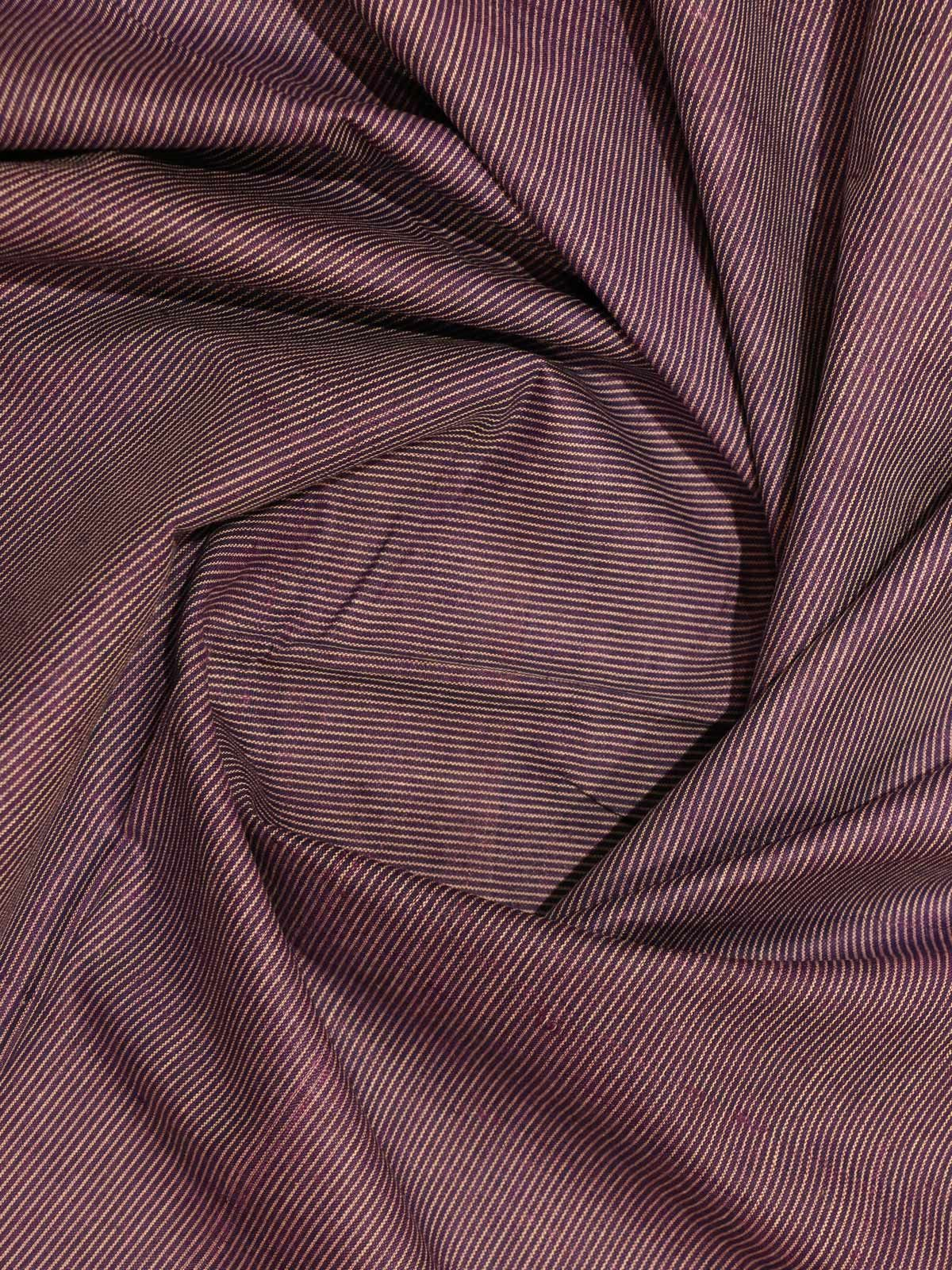 purple  Color kosa silk fabric