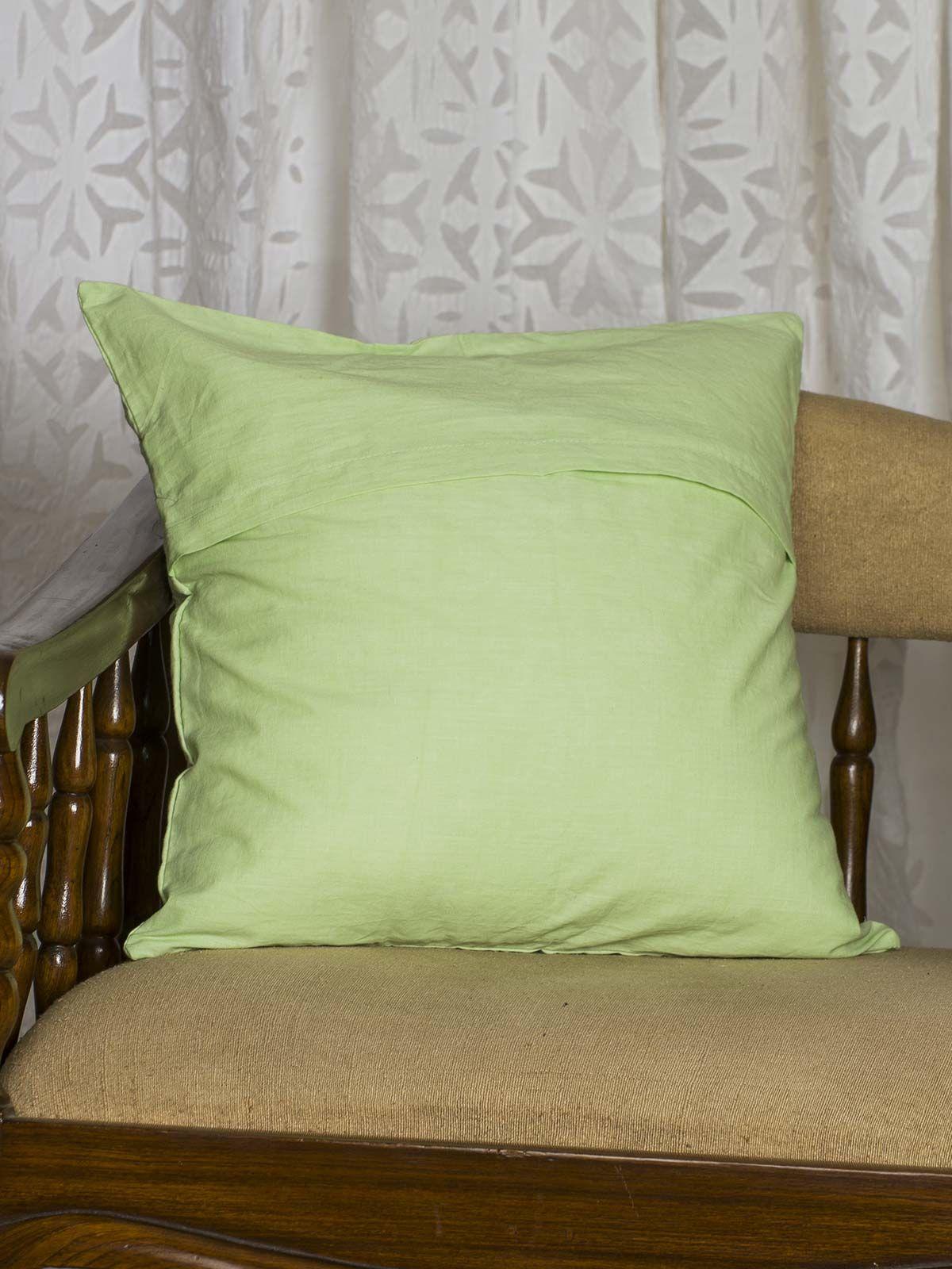 Green  Cushion Cover