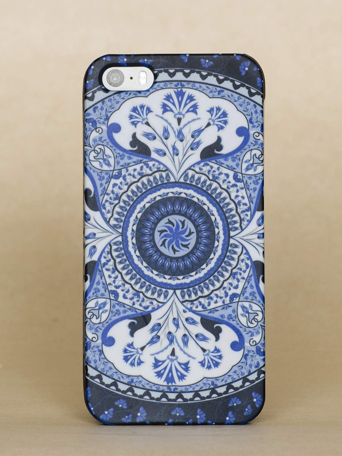 Blue Kaleidoscope Iphone 5S case