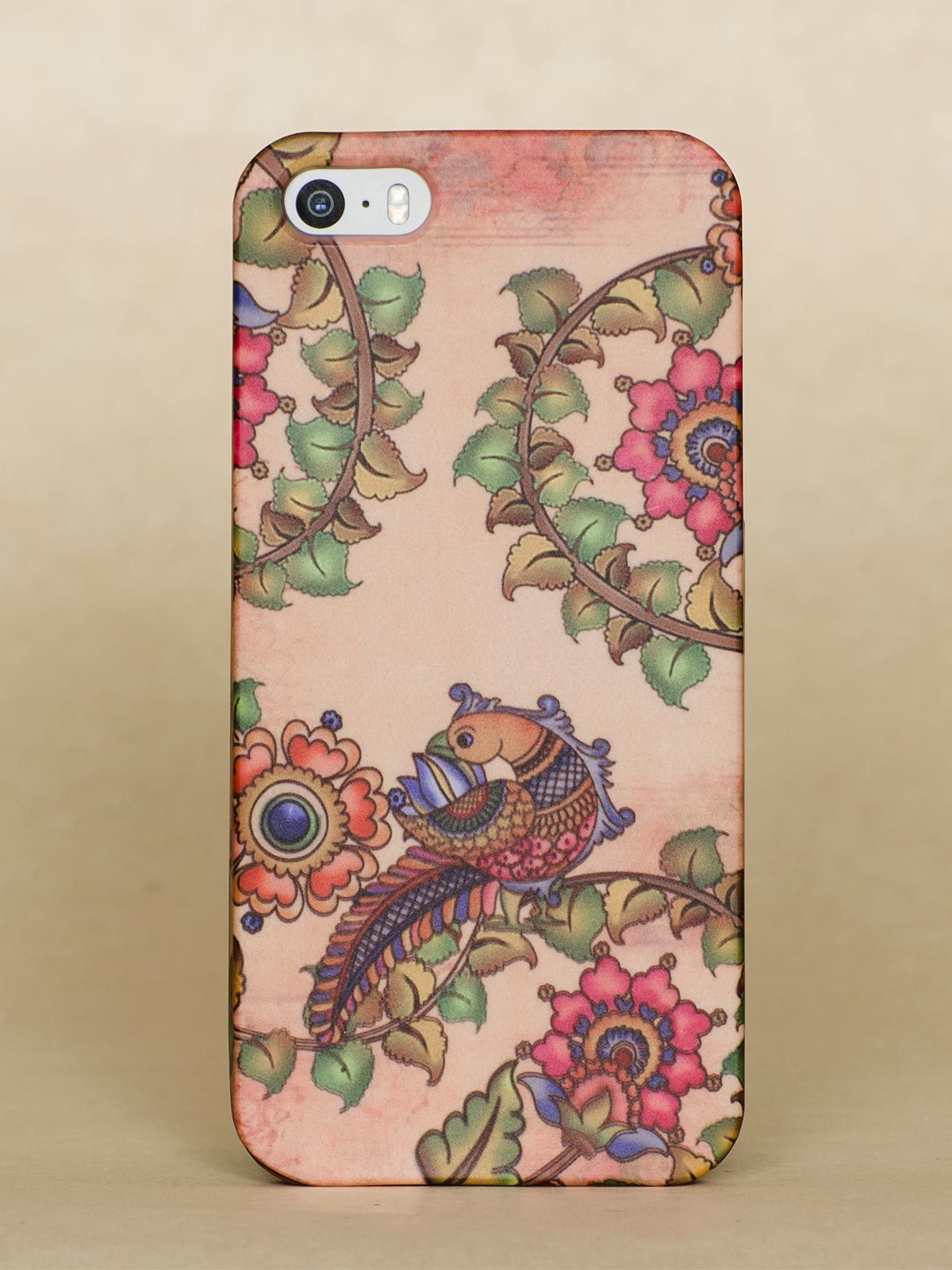 Rust Peacock Iphone 5S case