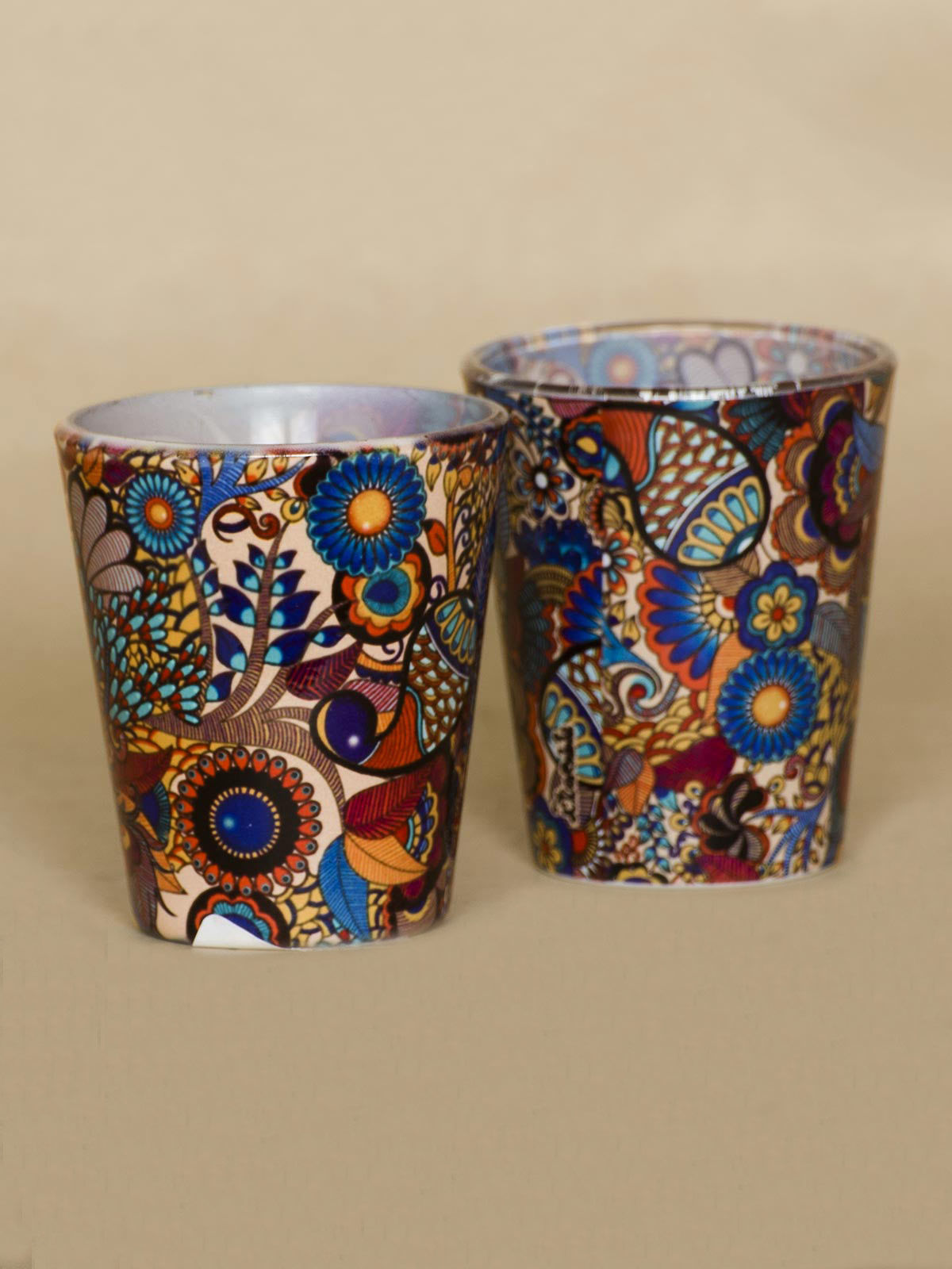 Multicolor Kaleidoscope shot glass