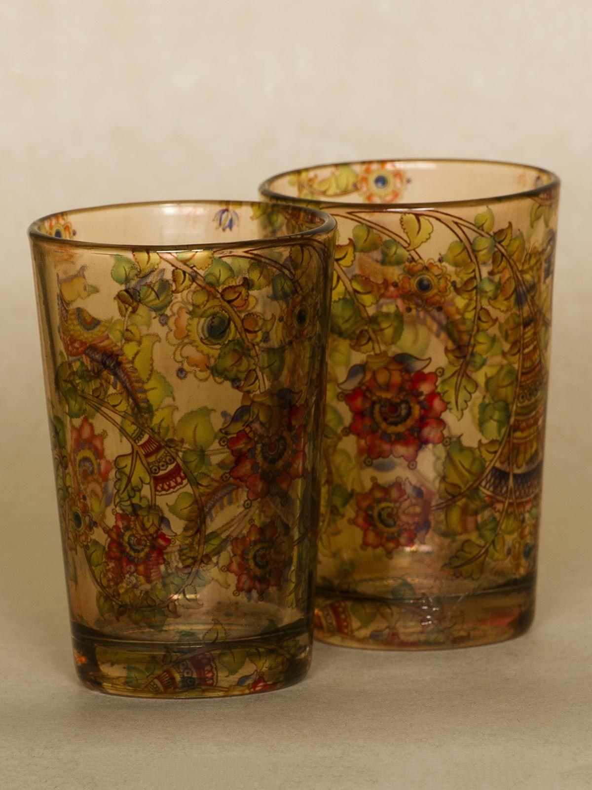 Gold Kaleidoscope shot glass