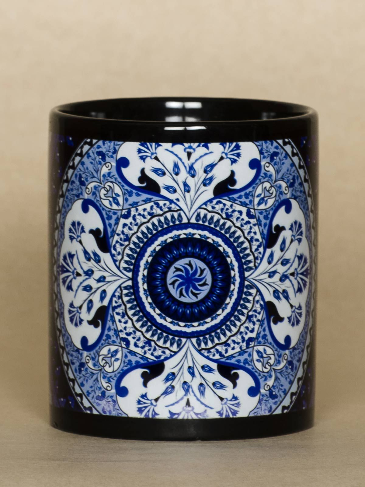 Blue Kaleidoscope mug