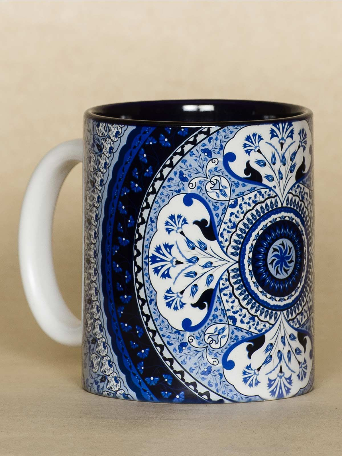 Blue Kaleidoscope mug