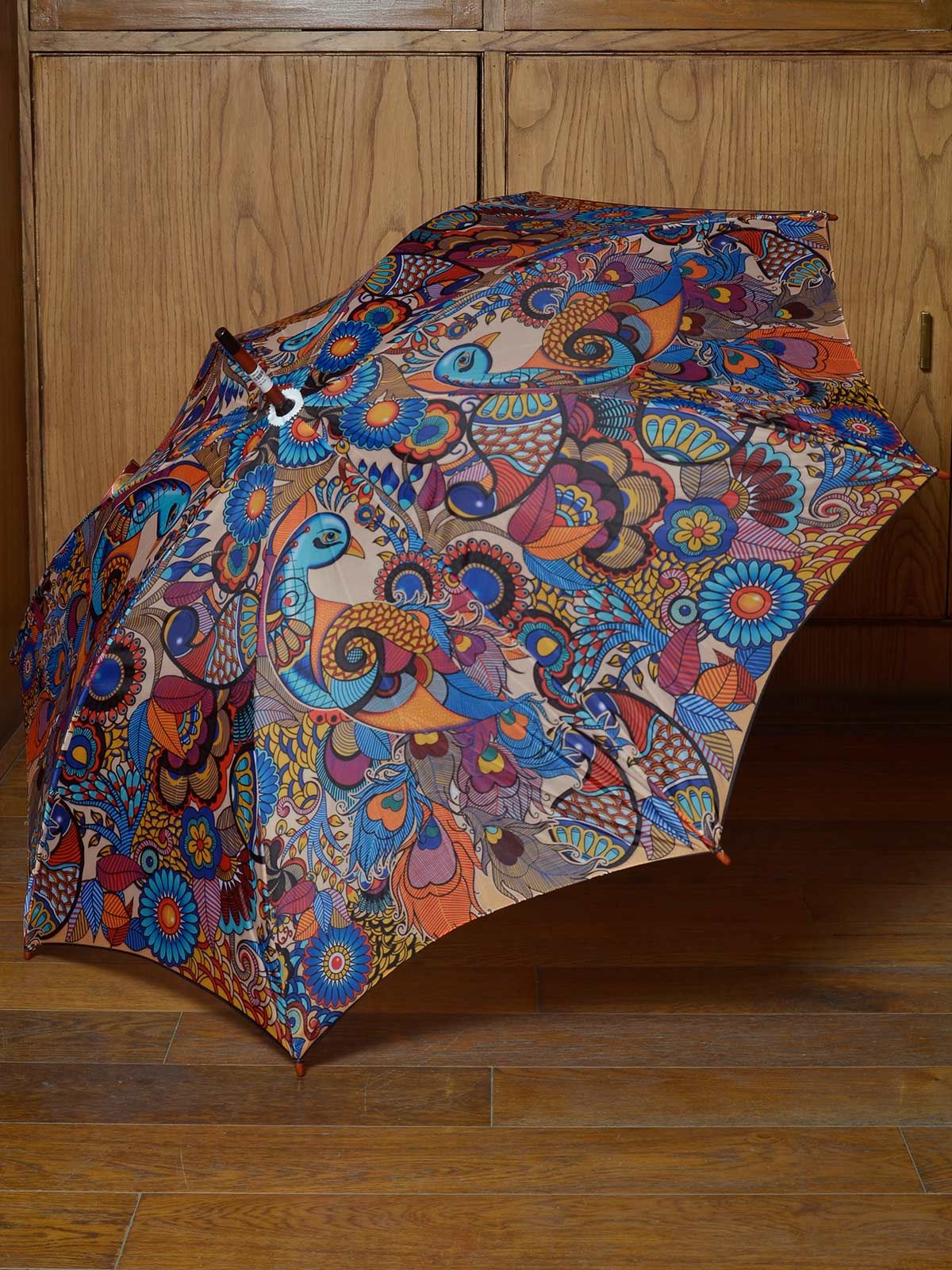 Multicolored Gypsy umbrella
