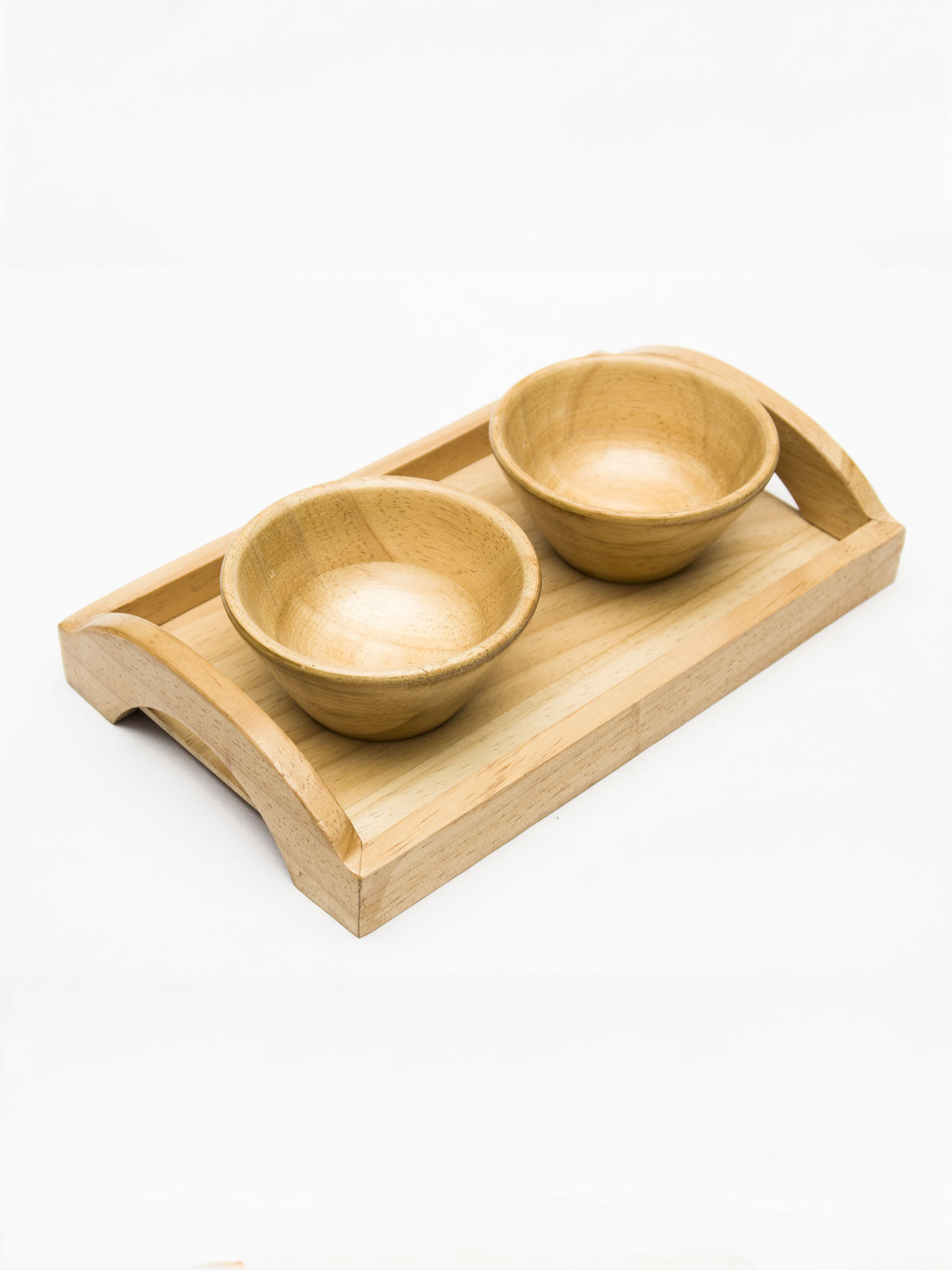 Tray with bowls.
