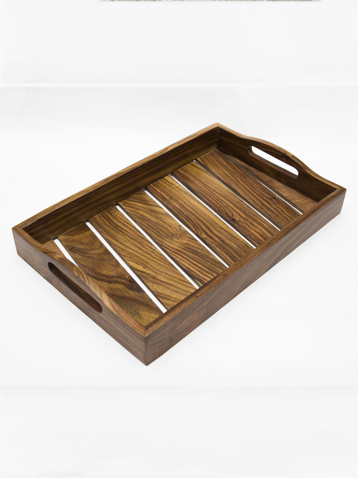 Slatted tray