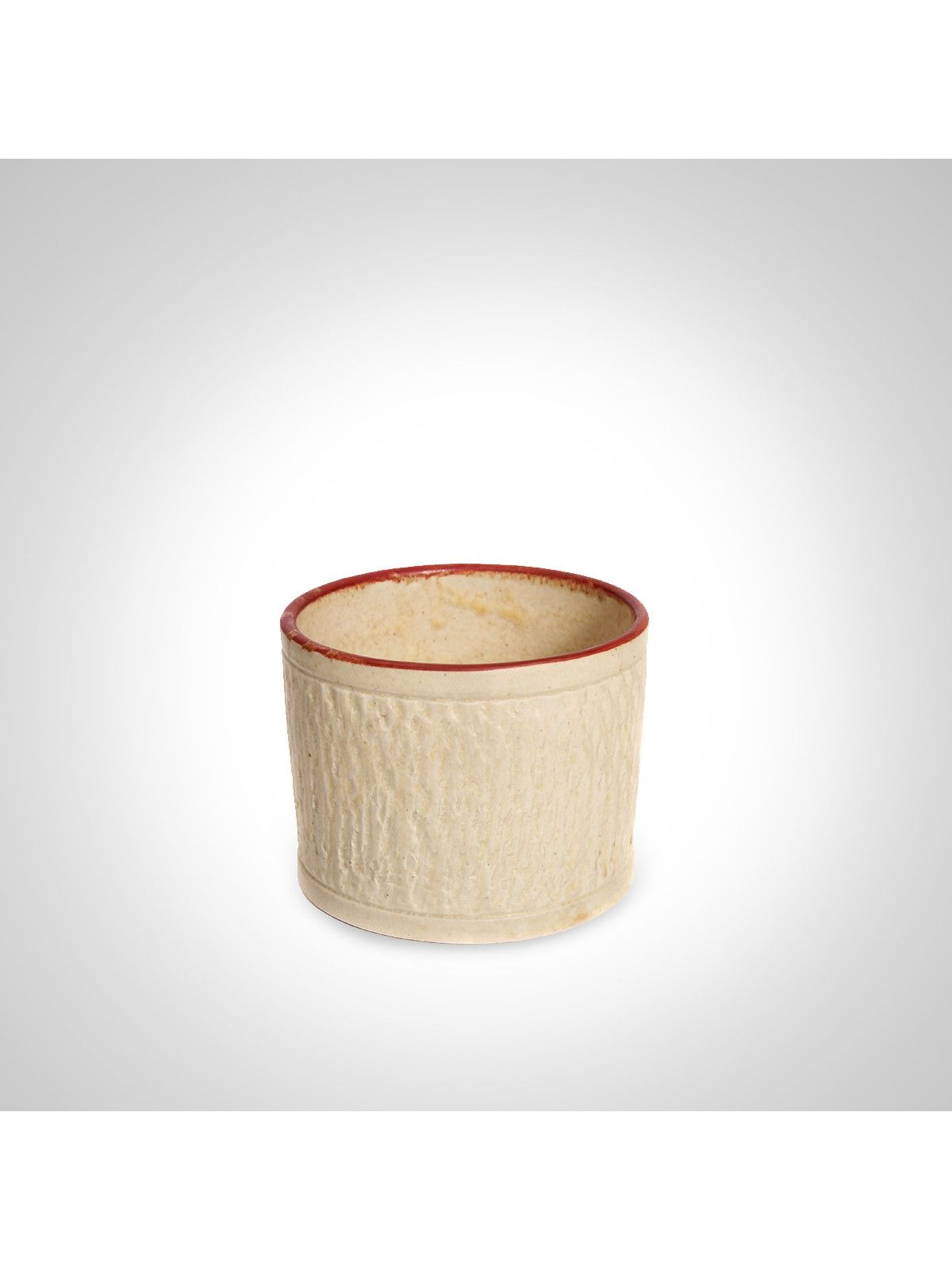 White ashen ceramic keeper
