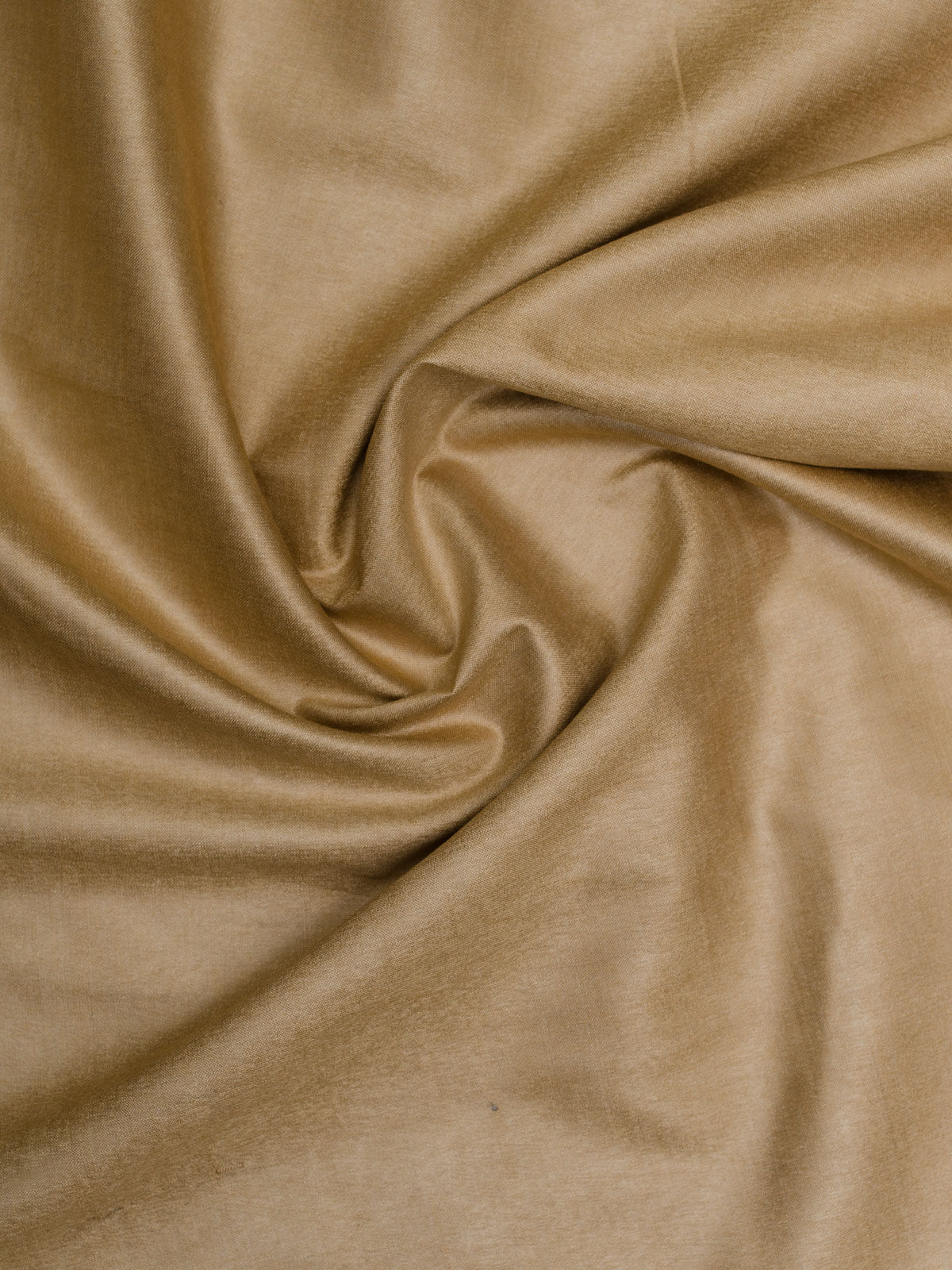 Light brown cotton silk fabric