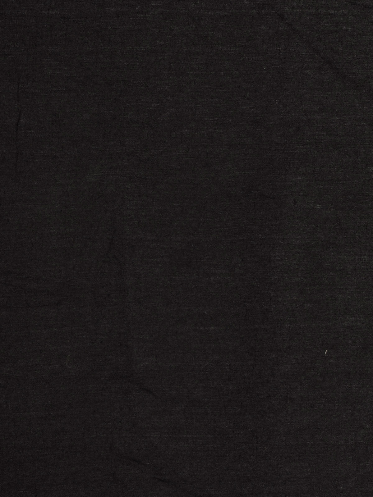 Pure black cotton silk fabric