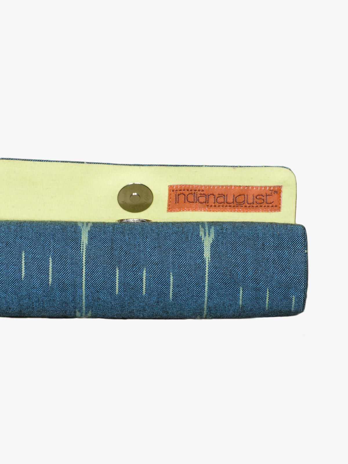 Multicolor kalamkari cotton goggle case