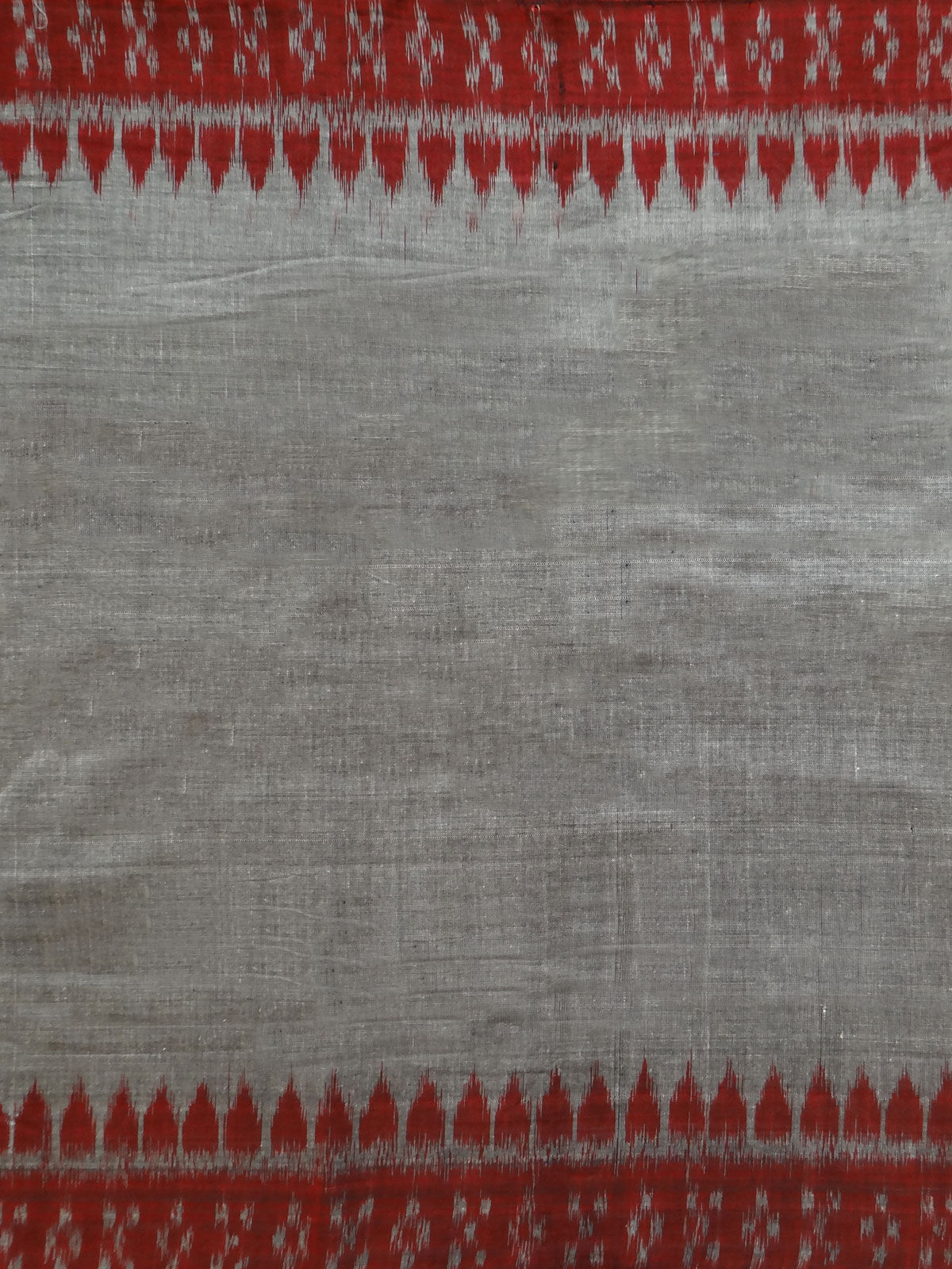 IKAT  MAROON GREY FABRIC