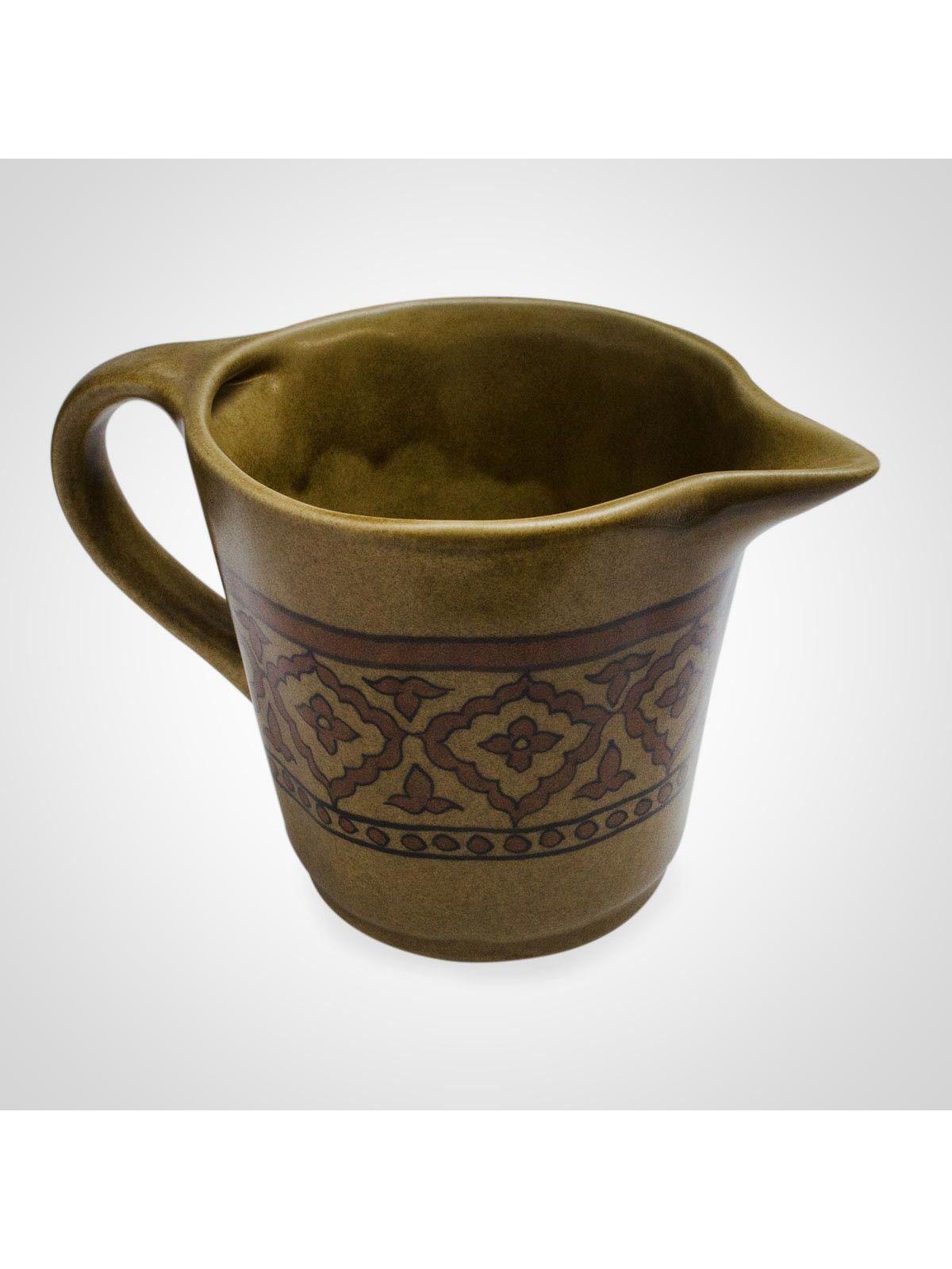 Brown Ceramic Decorative Jug