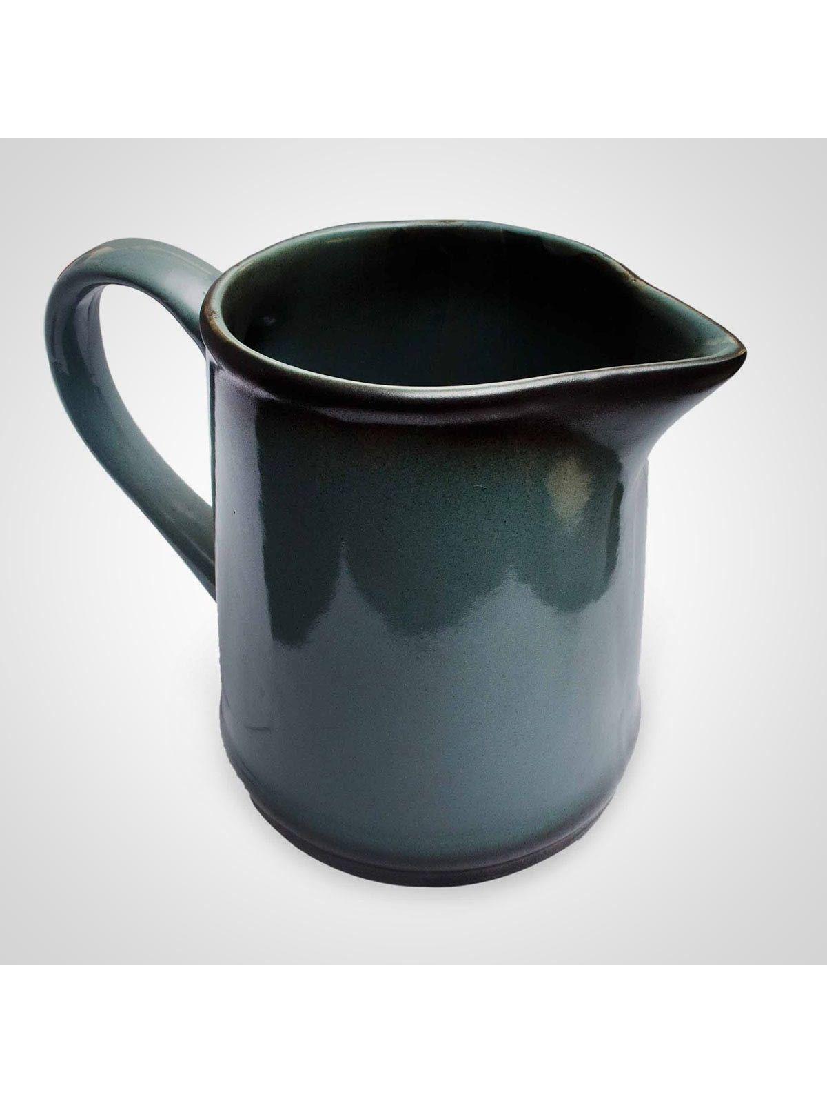 Blue Ceramic Decorative Jug