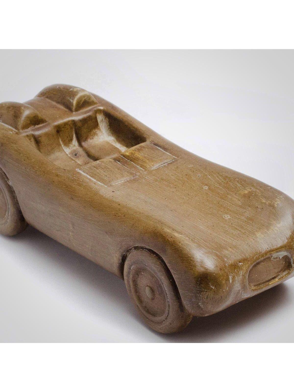 Brown Ceramic Car Model