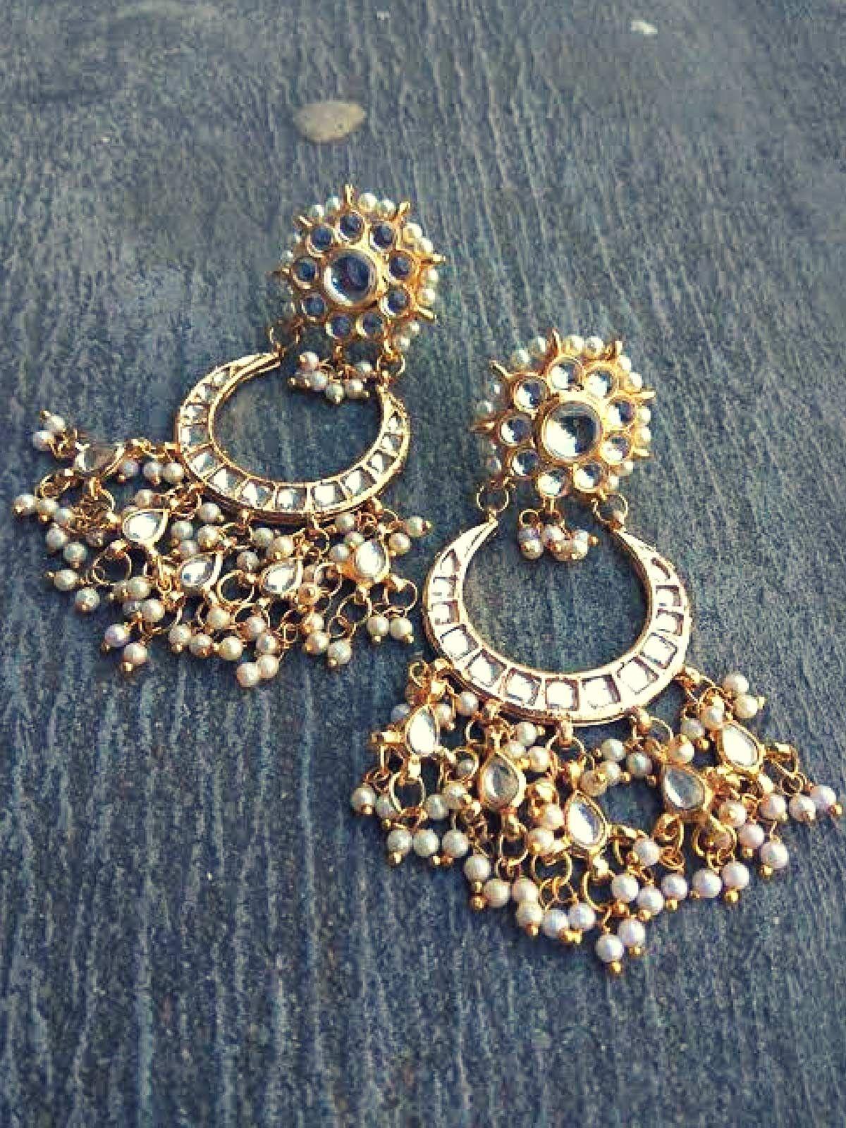 Kundan Dangle Earrings -