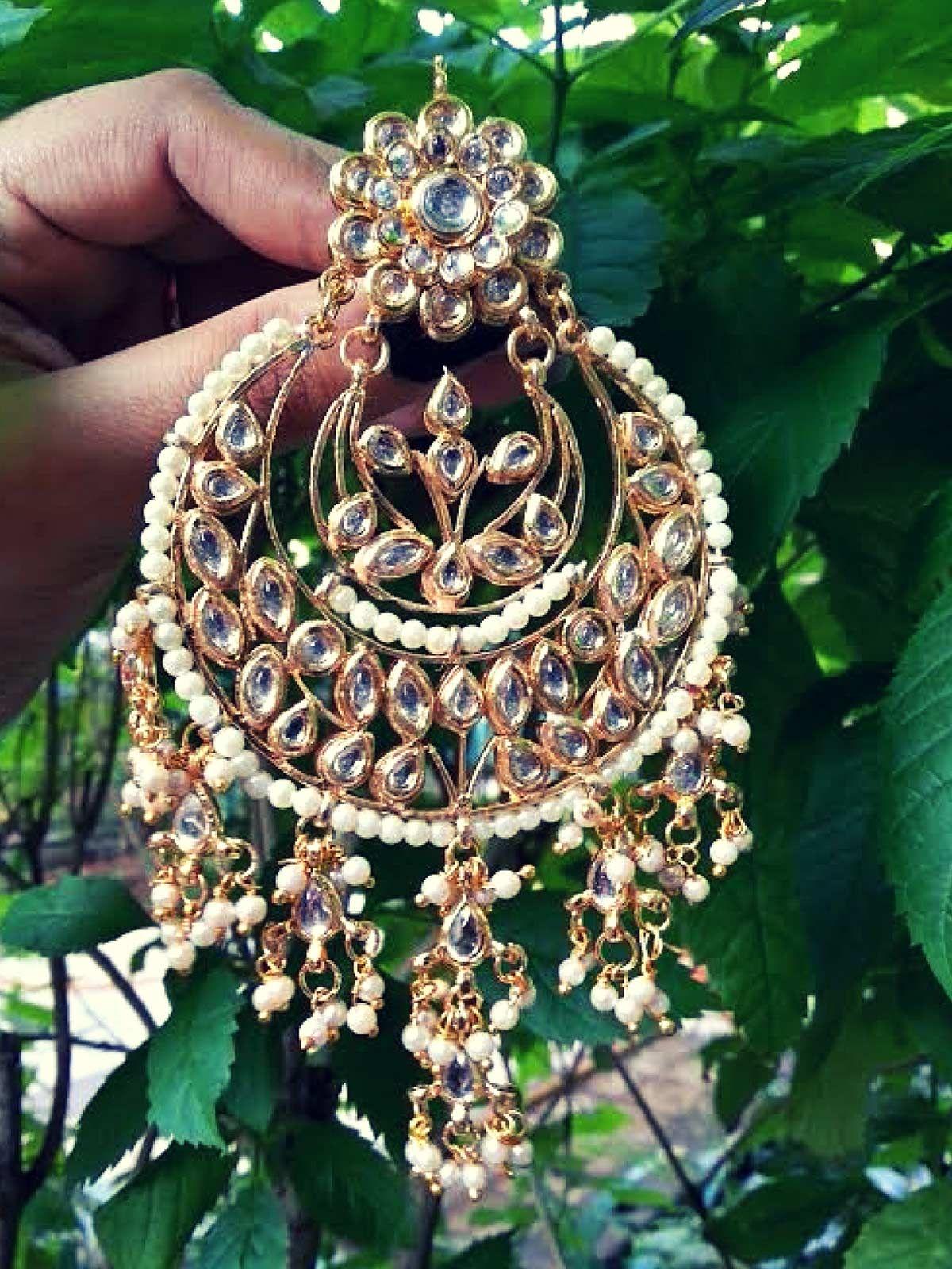 Kundan Hand Crafted Earrings
