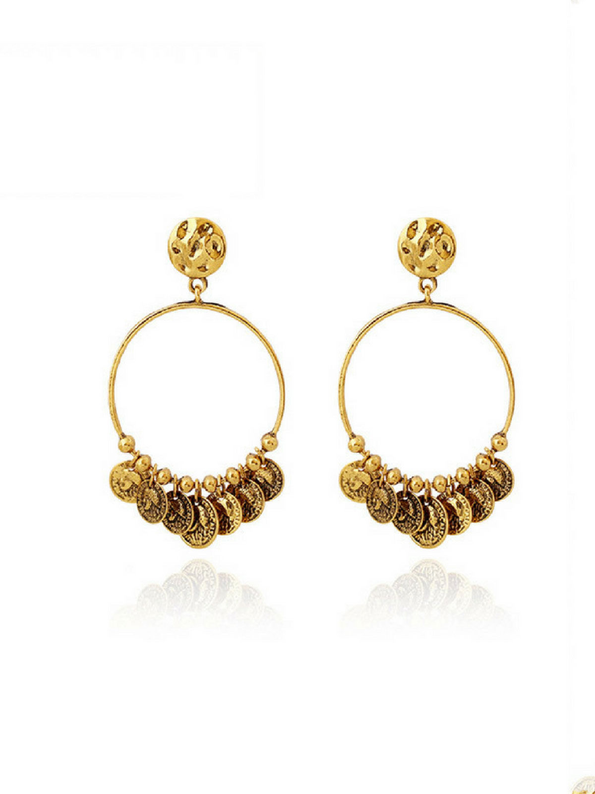 Kundan Kasu Earrings