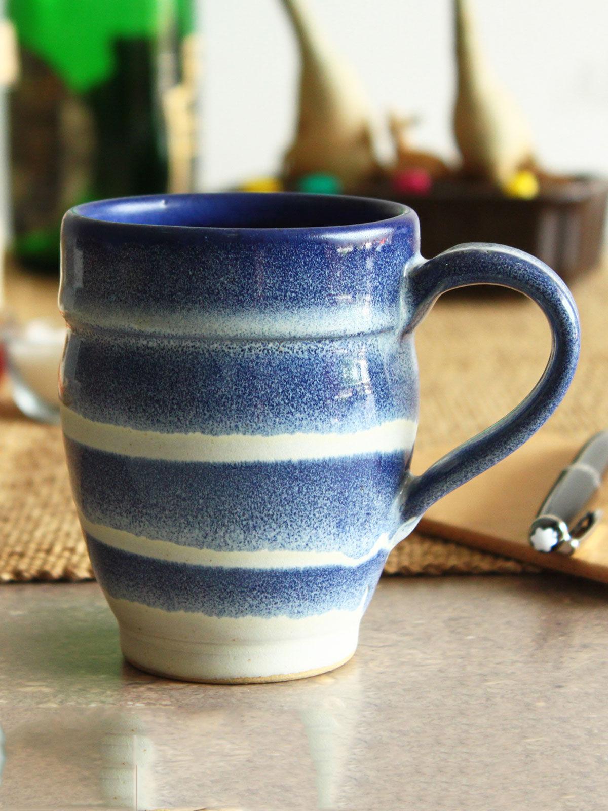 Blue Groovy Mug