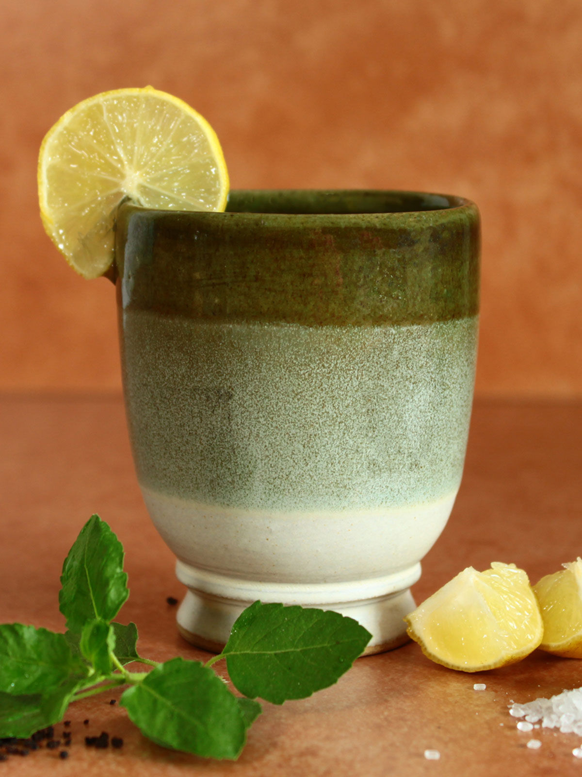 Green Groove Goblet