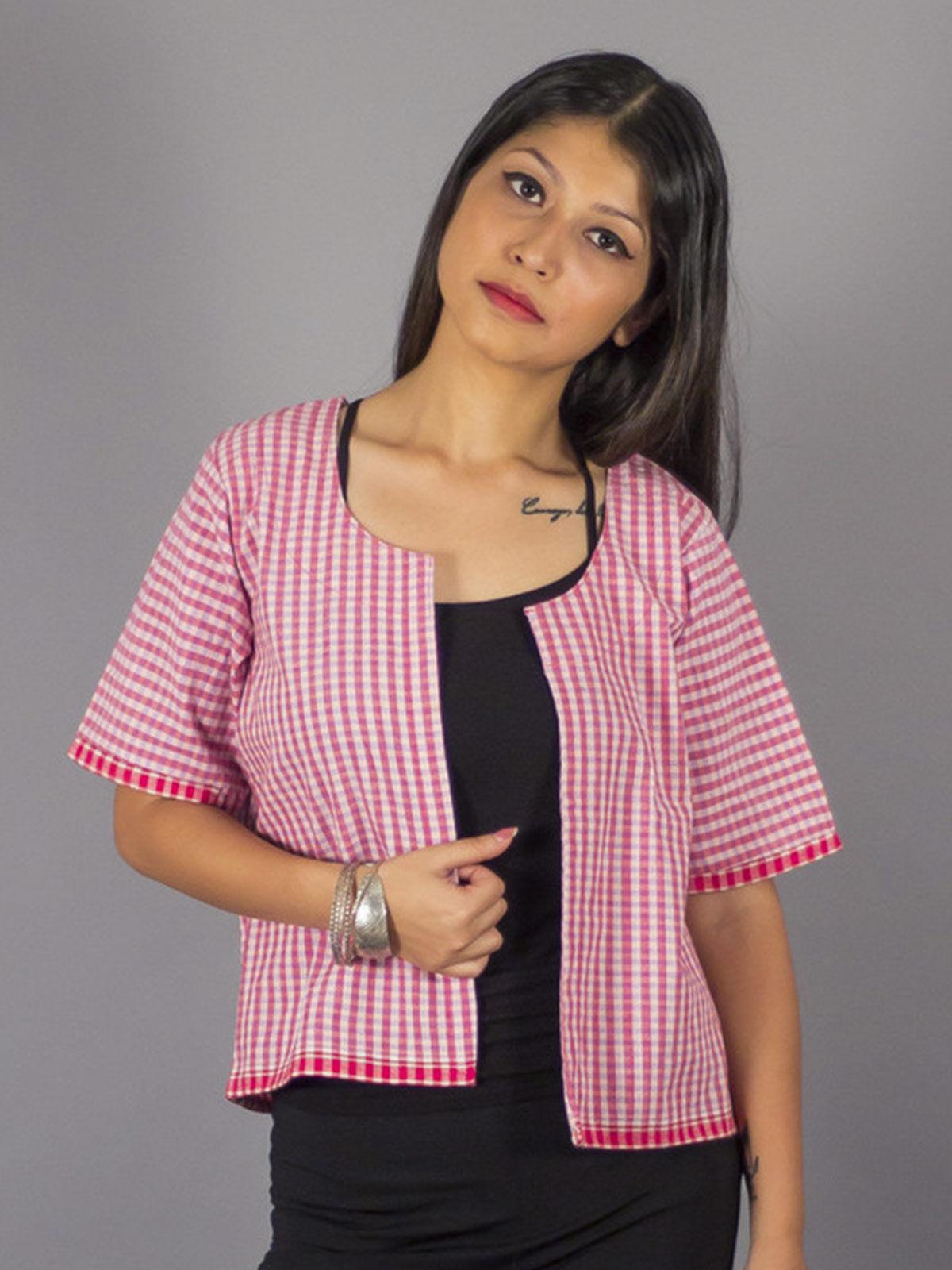 Checkmate Pink Jacket
