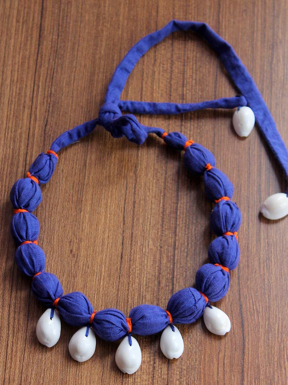 Shell blue gulband