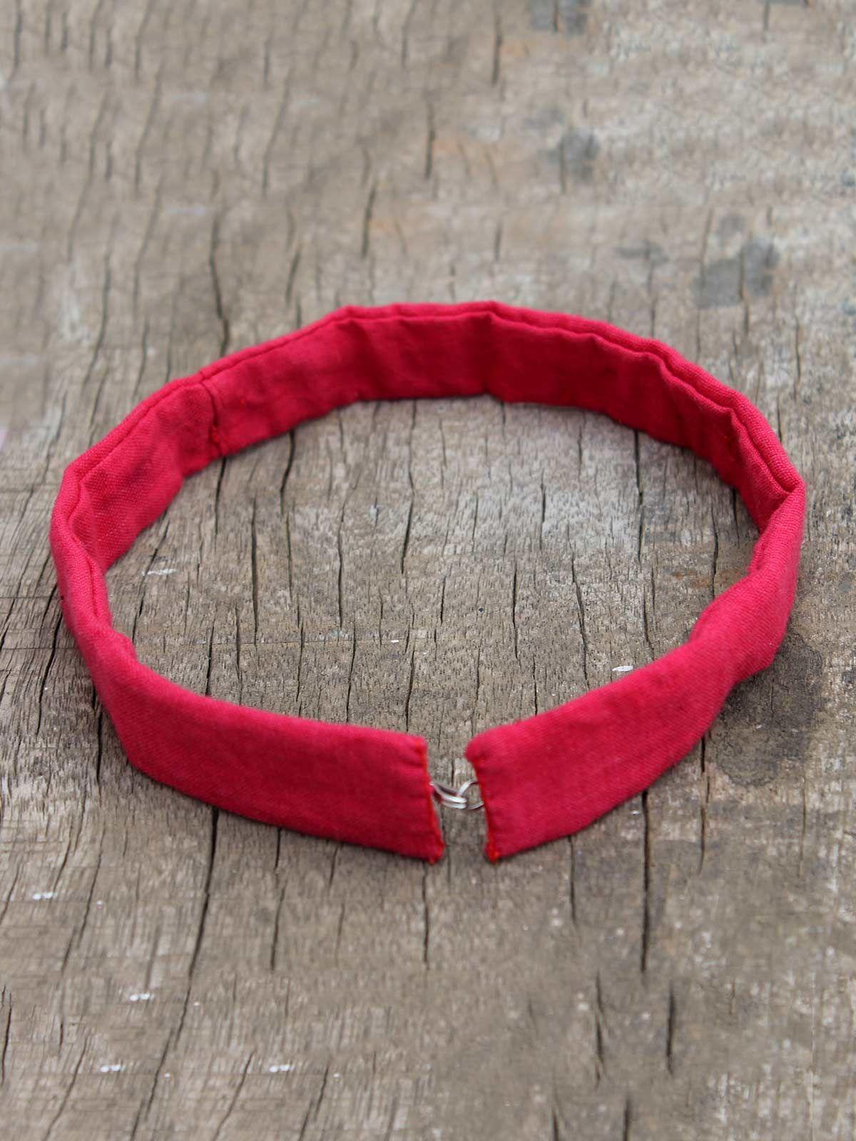 Tara red regal choker