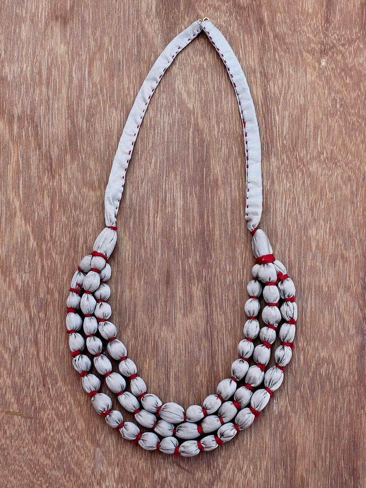 Tara metallic layered necklace