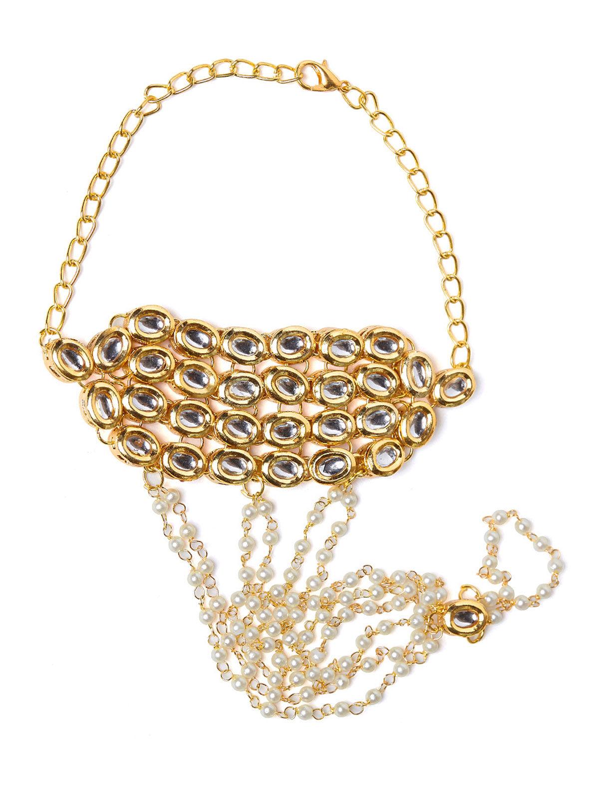 Imli Street golden bracelet