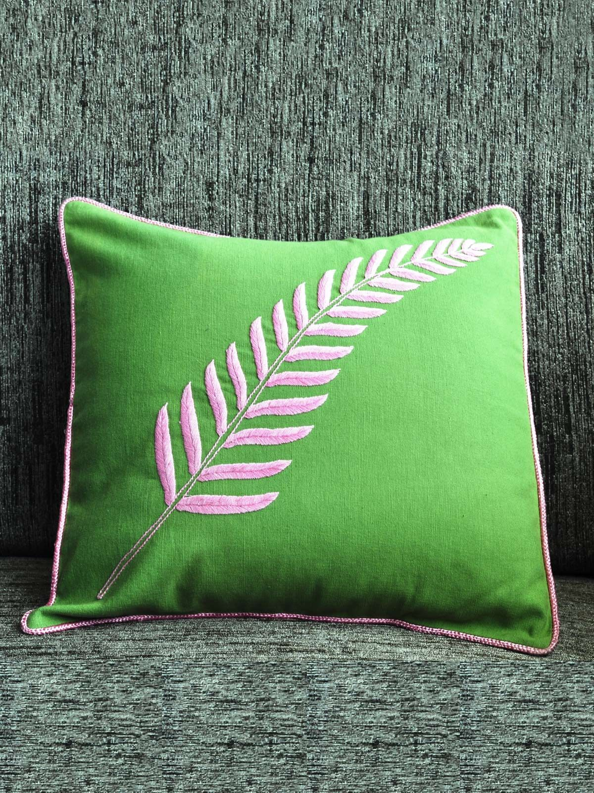 Handmade Embroidered Cushion cover for bed or sofa set