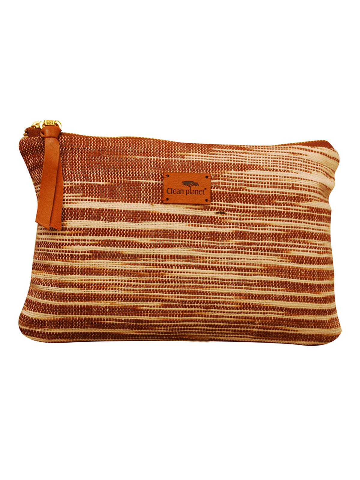 Khadi Pouch (Wood Brown)