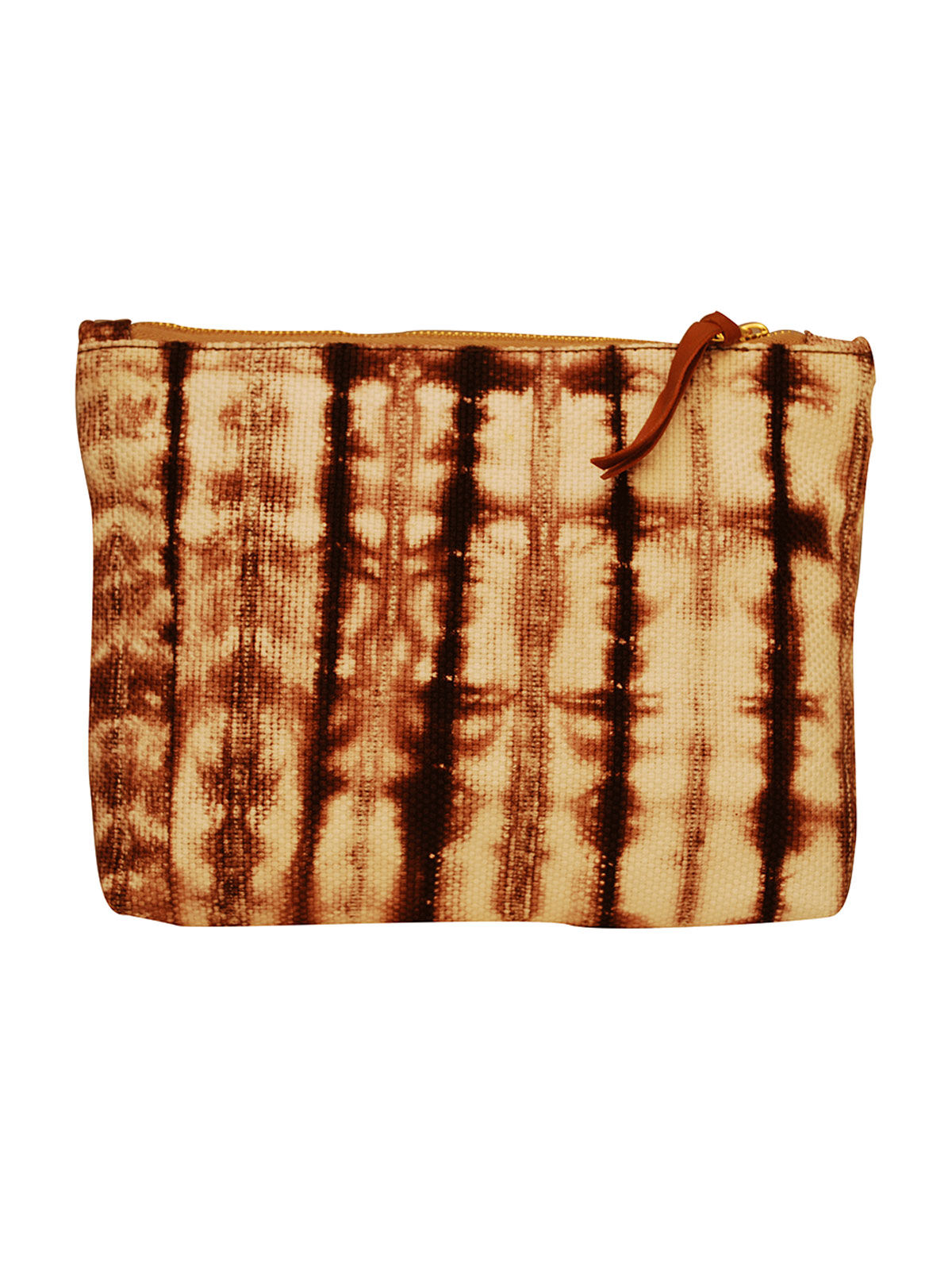 Handcrafted Shibori Clutch