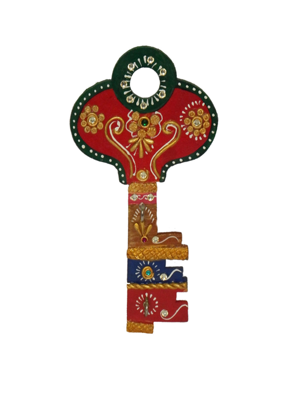 Craftszilla Wooden Key Shape Key Holder