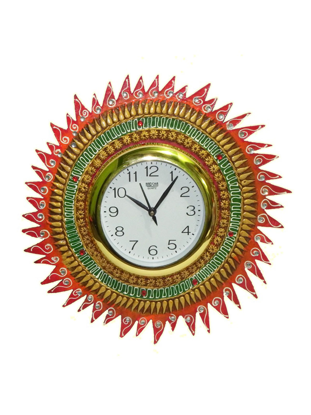 Craftszilla Handcrafted Sun Analog Wall Clock