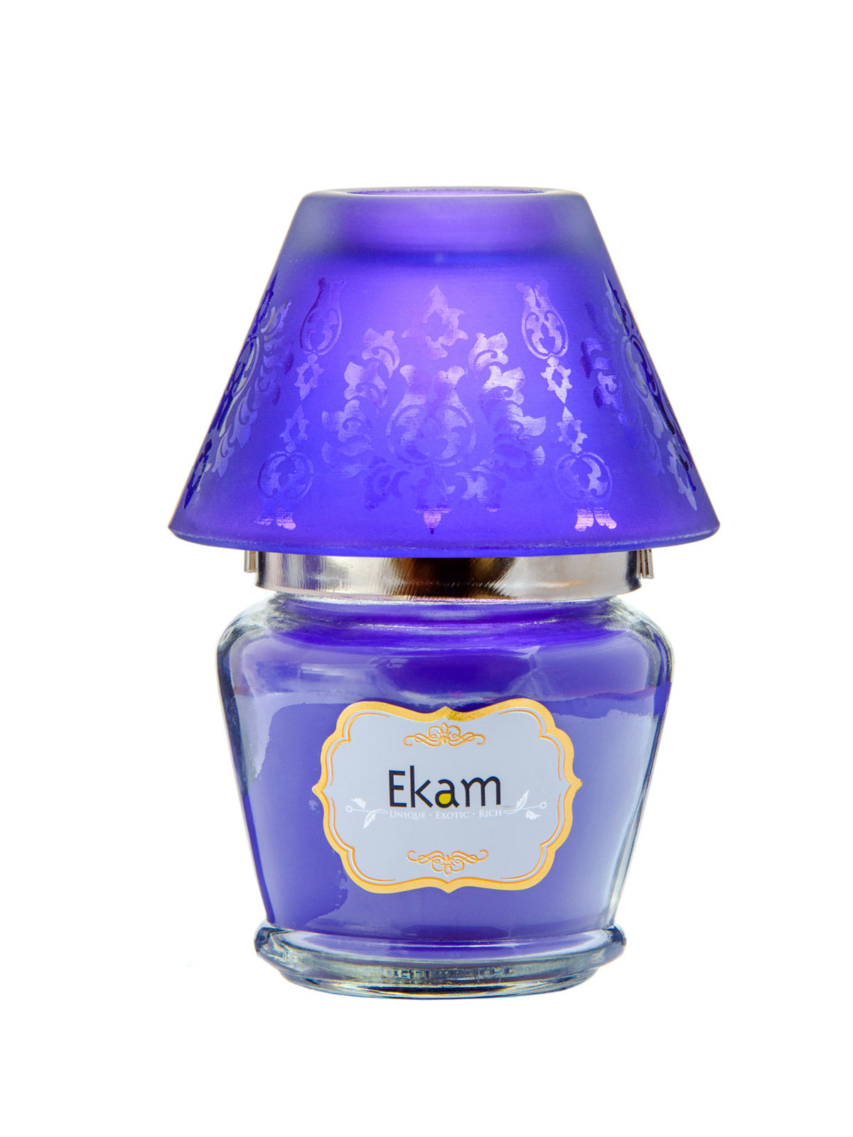 Lavender Lampshade Candle