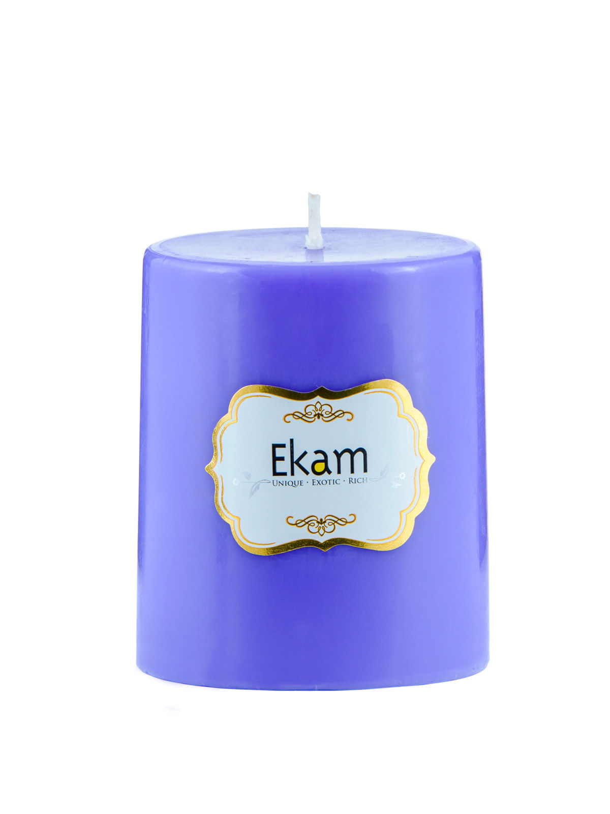 Lavender Pillar Candle