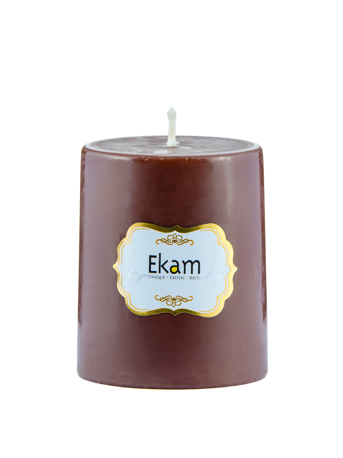 Mahogany Pillar Candle