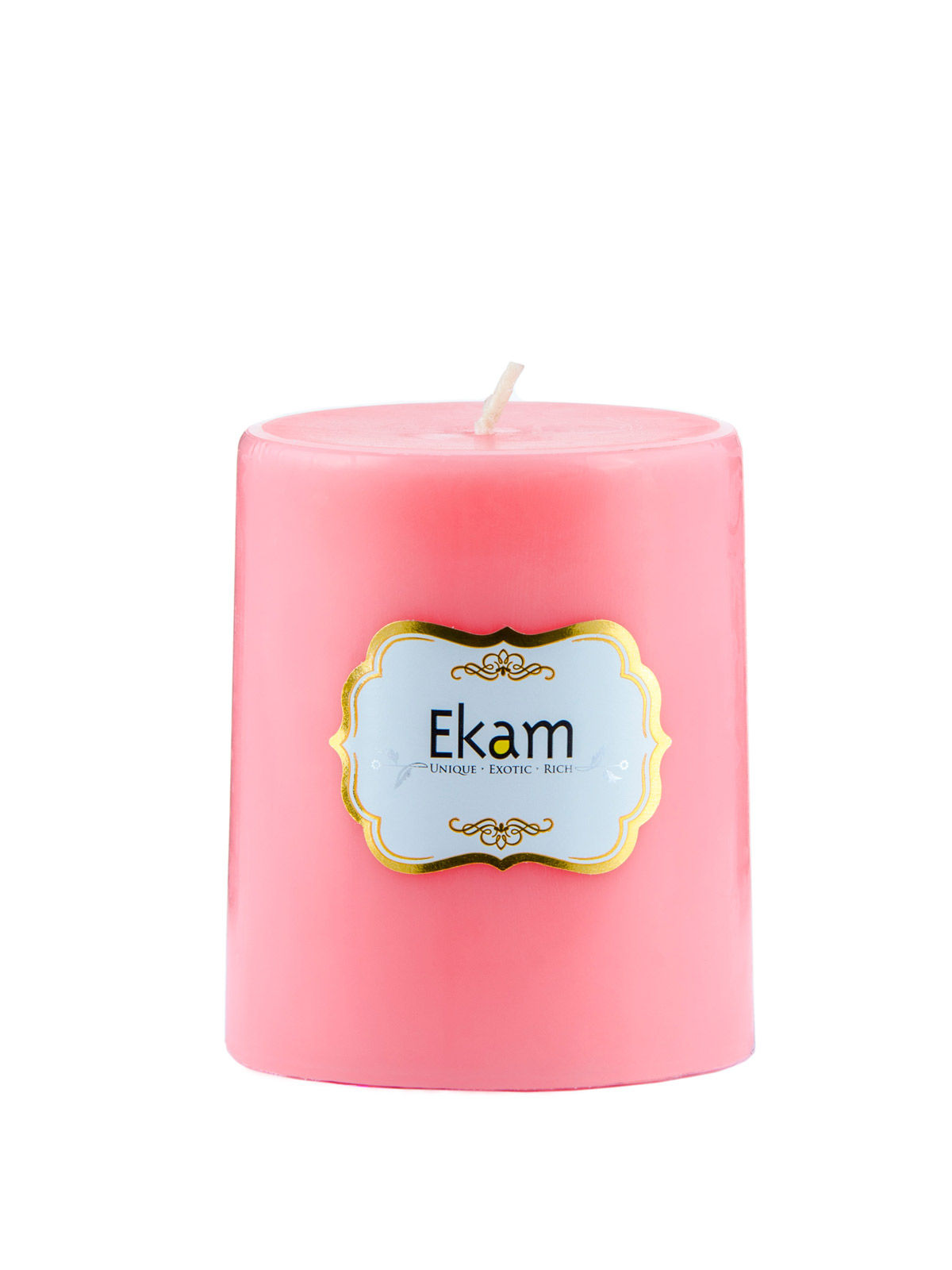 Strawberry Pillar Candle