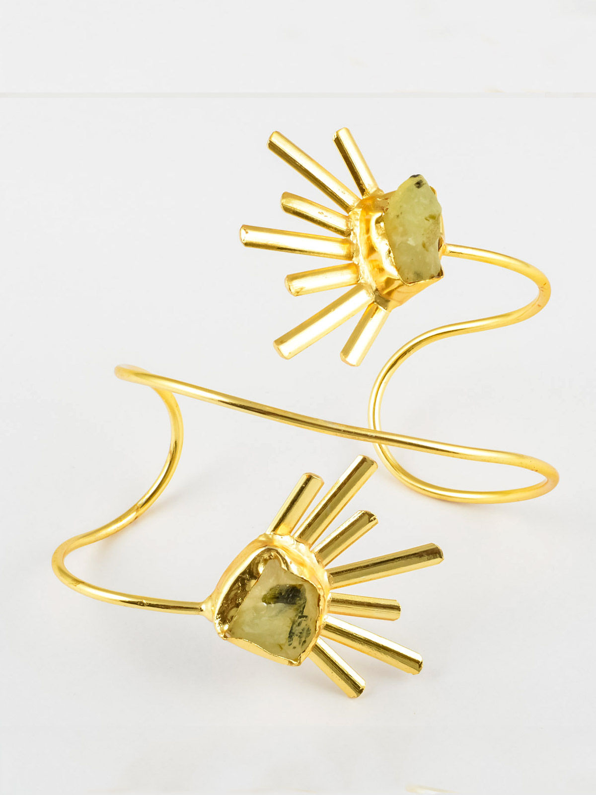 Catriona semi precious metal bracelet