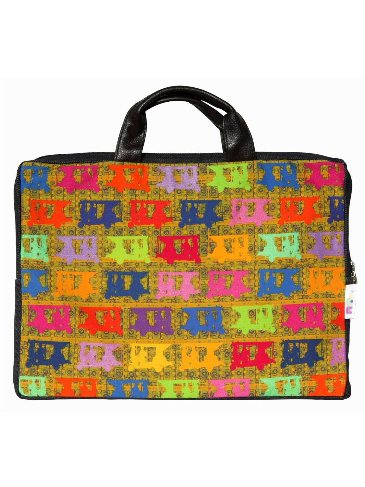 Vibrant Taxis Laptop Sleeve