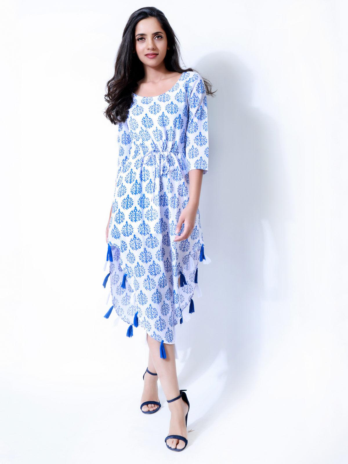 Block Print Summer Dress
