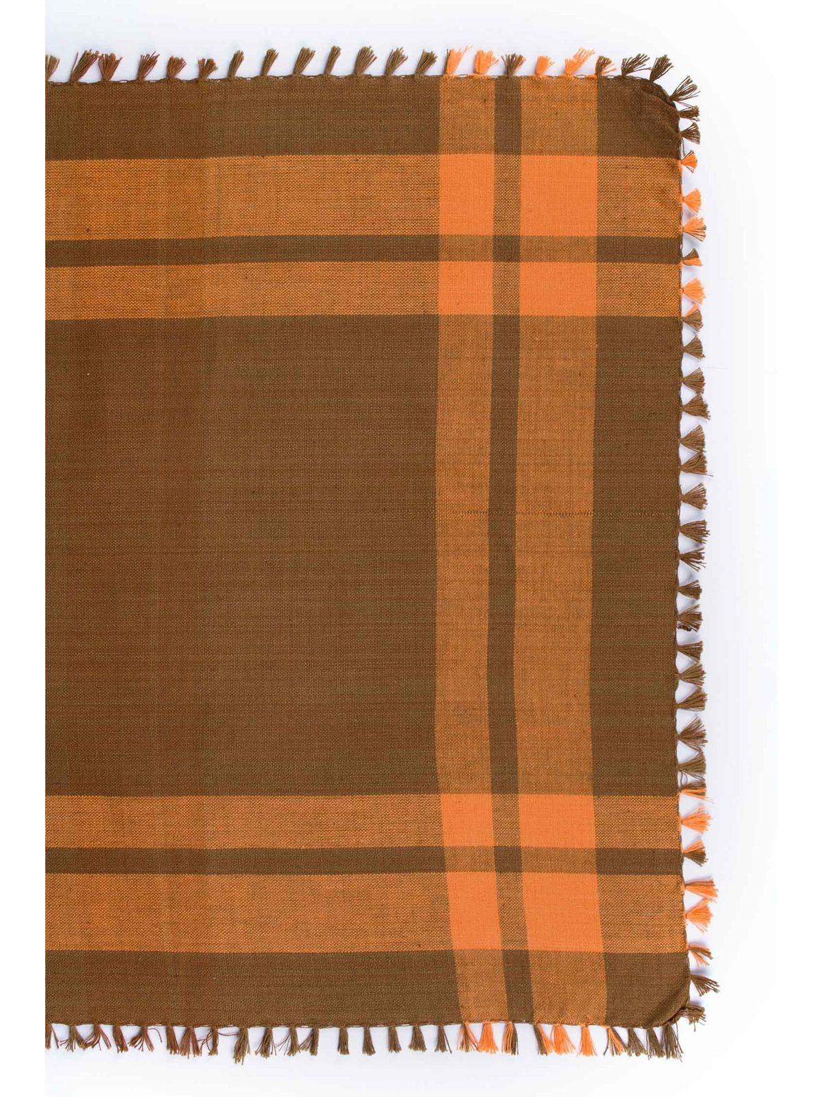 Orange Handwoven Napkin - Set of 6