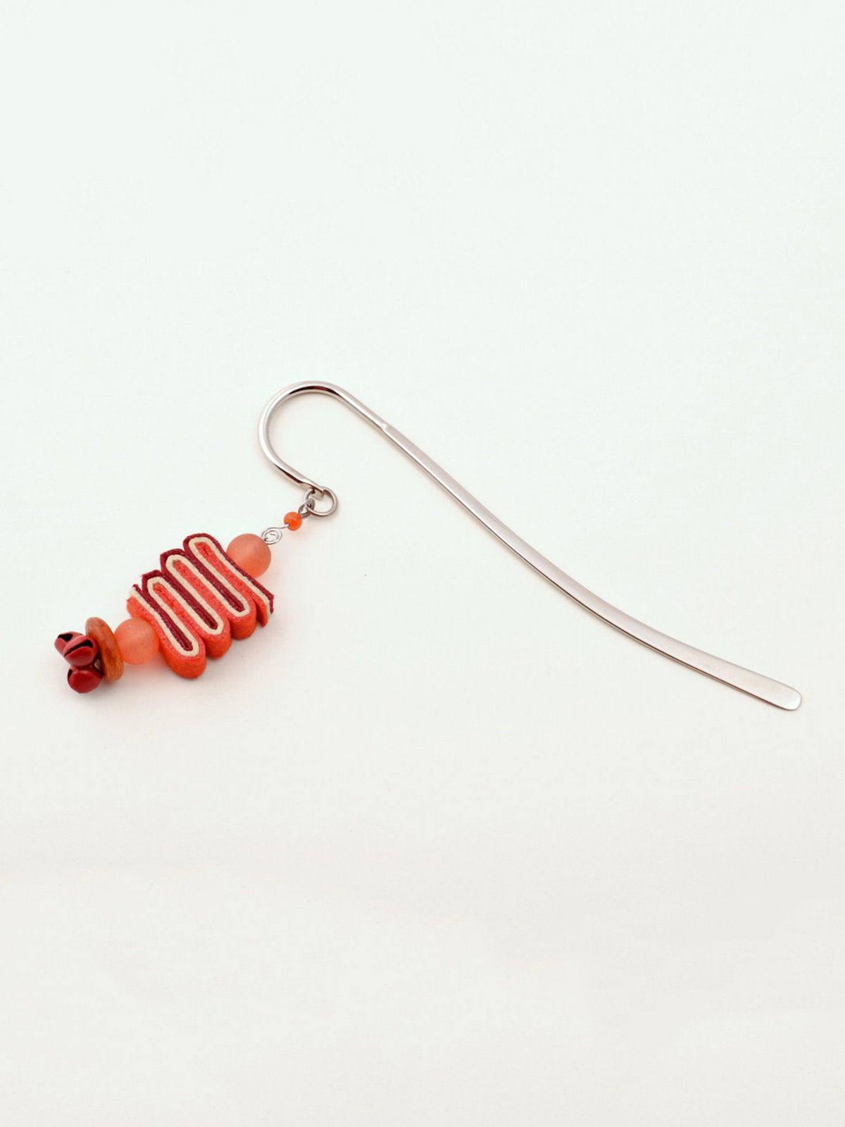Bookworm Bookmark - Red