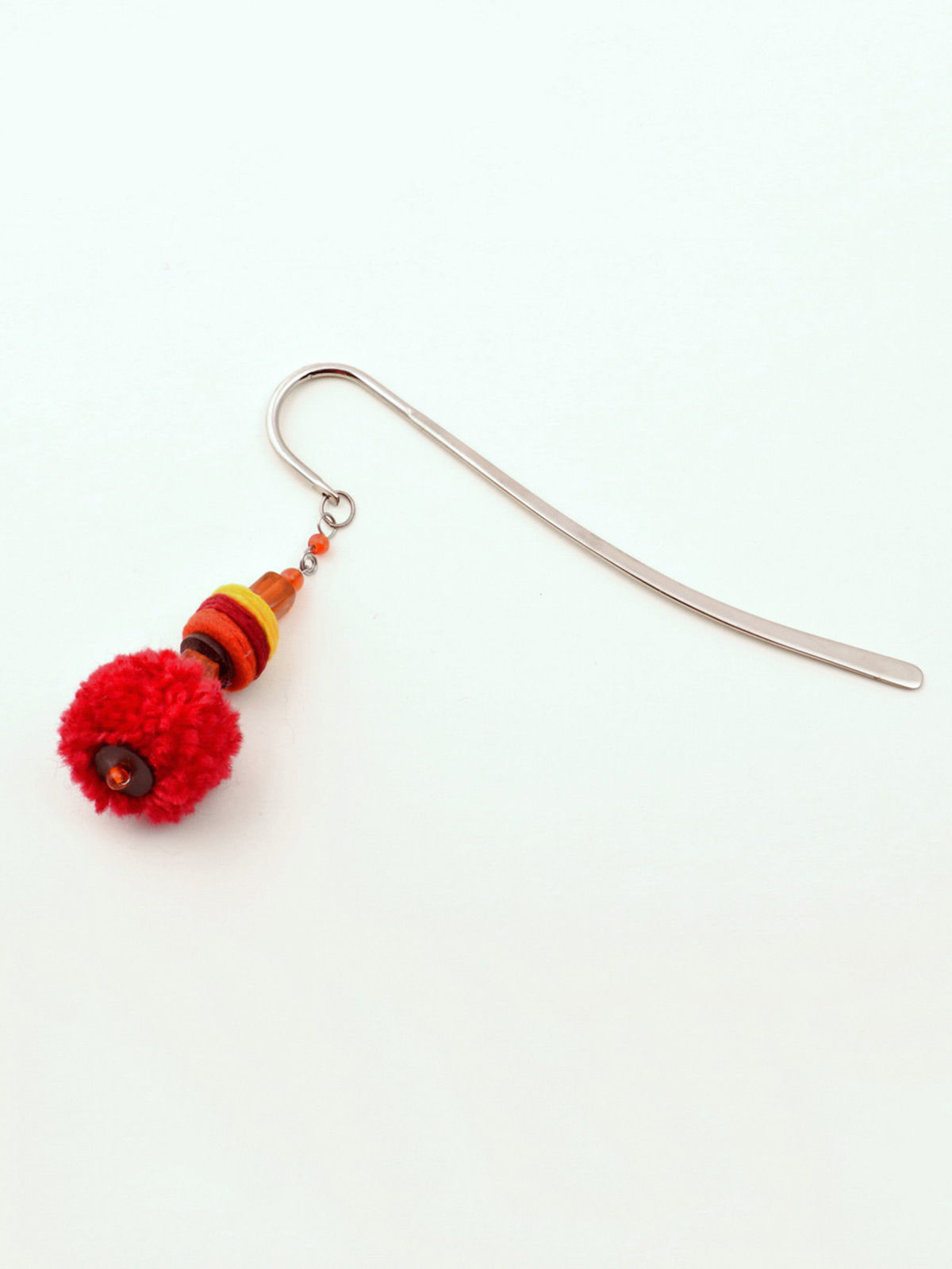 Elf- in-a Hat Bookmark - Red