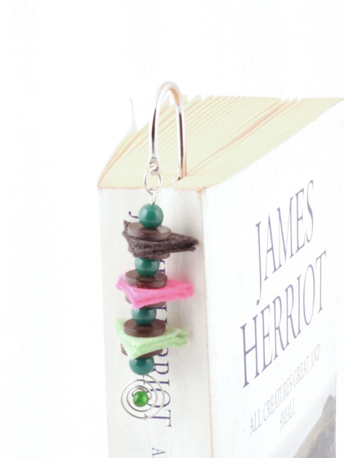 Balancing Act Bookmark - Teal