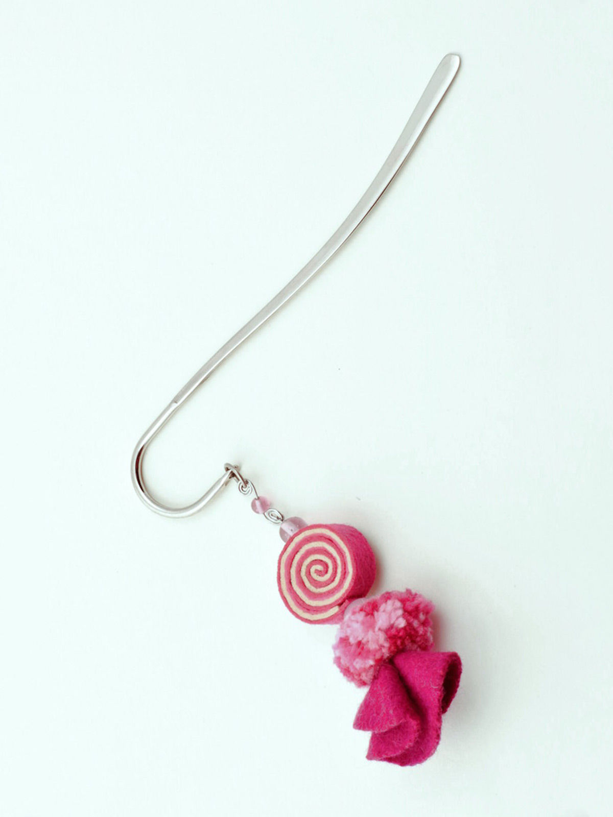 Psychedelic Doll Bookmark - Pink